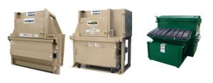 Compactors for front and rear load vehicles