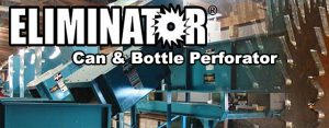 Can and bottle perforator equipment