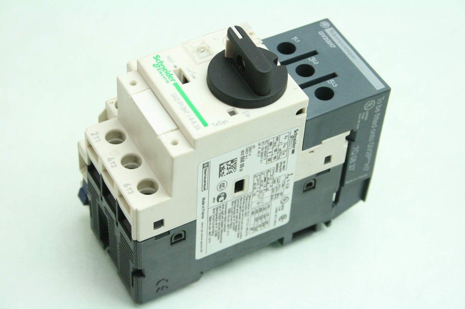 03 4745 Motor Starter Iec 9 14 Amp Motor Protector Tele