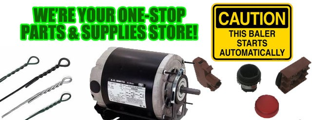 baler and compactor parts and supplies
